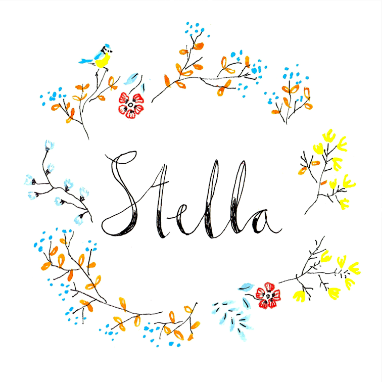 stella sticker